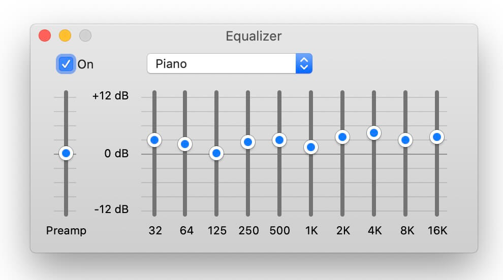 best equalizer settings - classical music