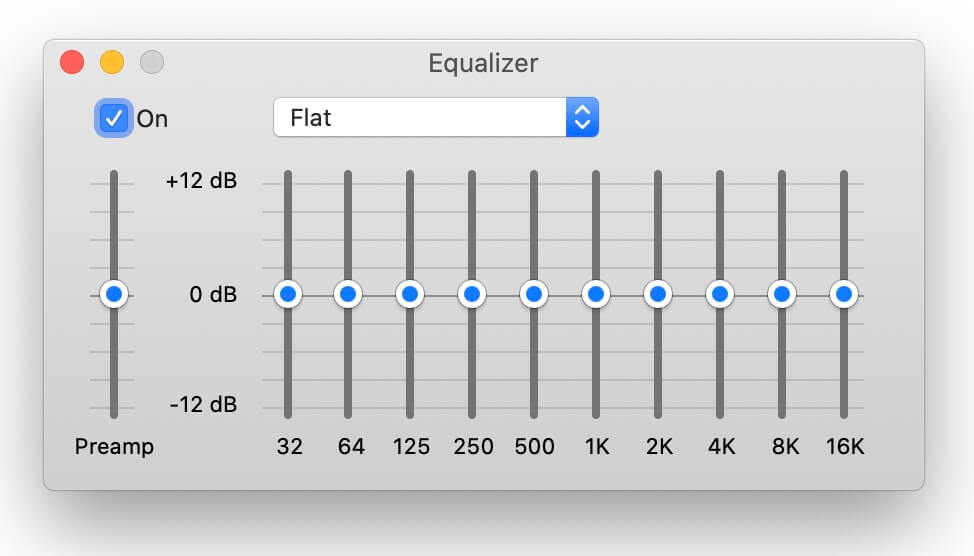 best equalizer settings - flat