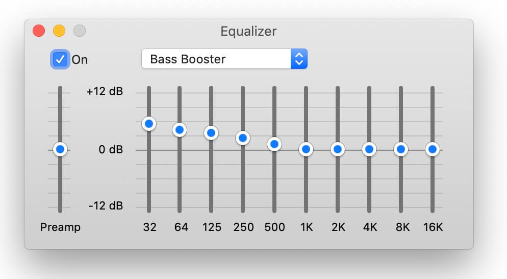 best equalizer settings for bass