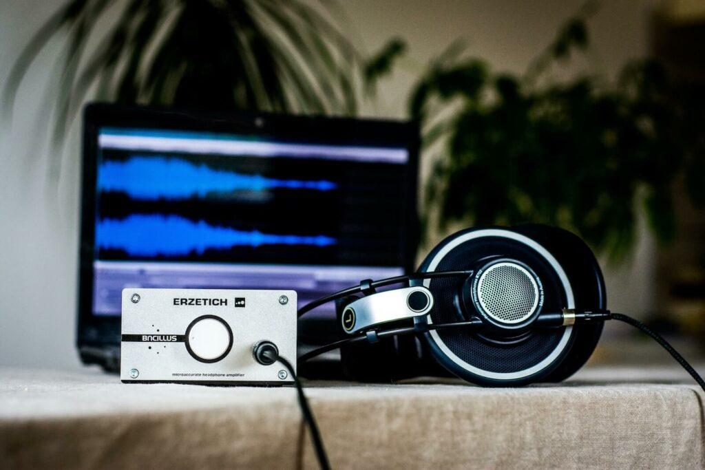 how to make headphones louder - amplifier