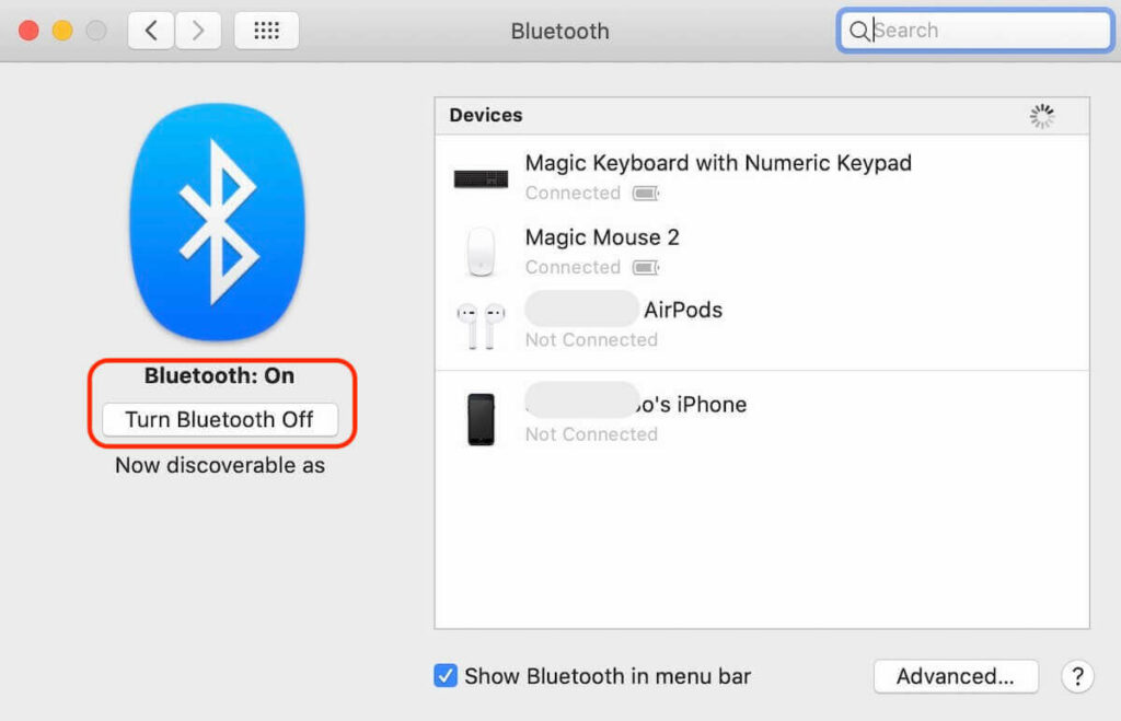 how to connect bose headphones to mac - bluetooth settings