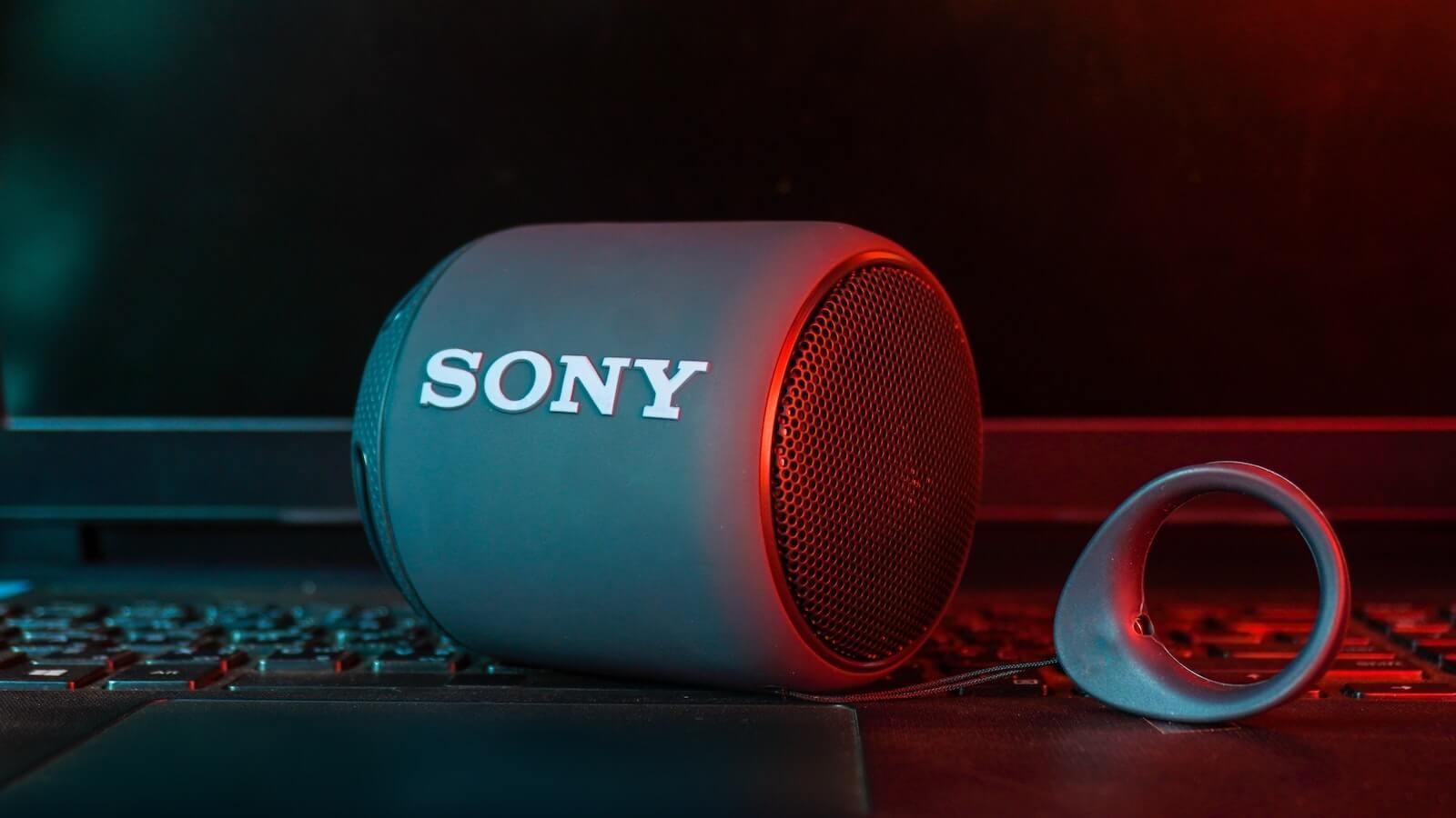 best speaker brands - sony