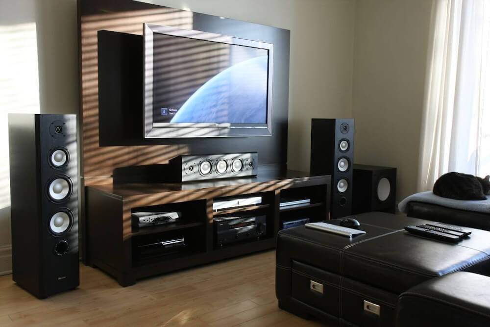 subwoofer placement - cornered location