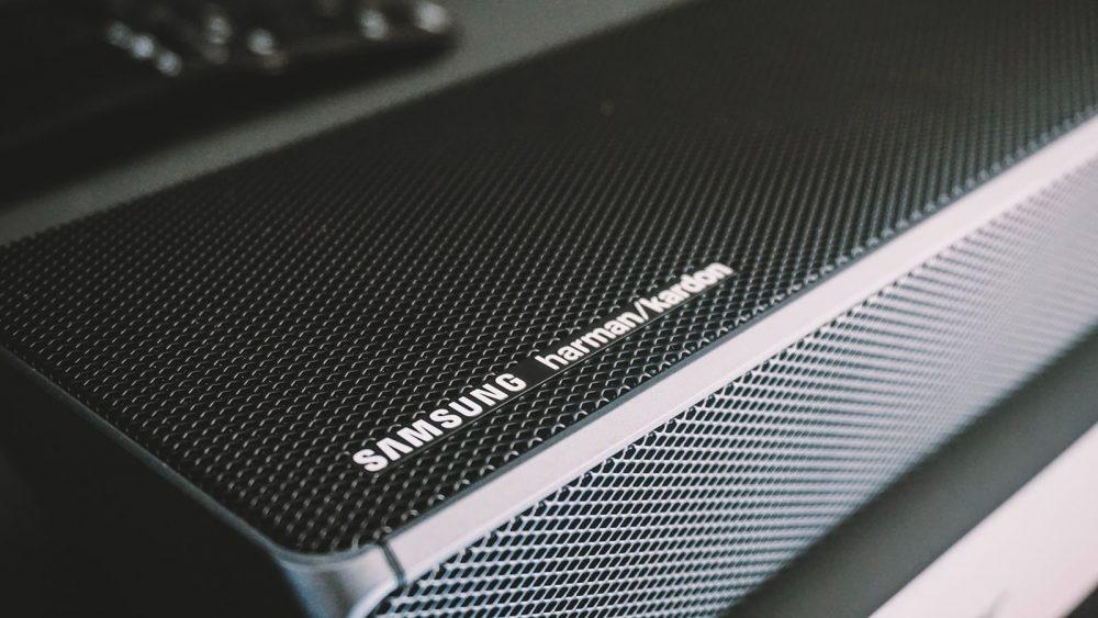 how to reset samsung soundbar -close up
