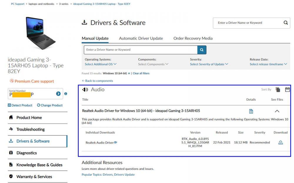 How to adjust Bass on Windows 10 - Lenovo website