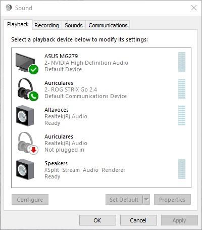 How to adjust Bass on Windows 10 - playback tab